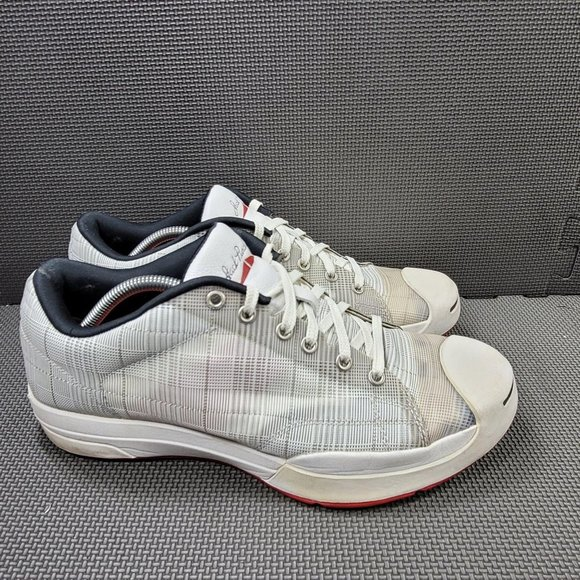 Mens Sz 11.5 White Converse Jack Purcell Sneakers